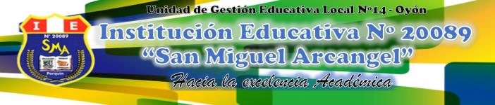 Sitio Educativo de la IE 20089 - Parquin